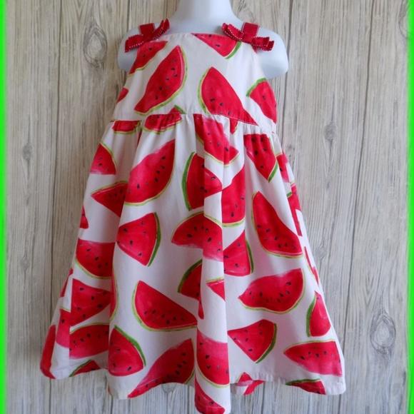 092c9f114f29 Gymboree Dresses | Watermelon Picnic Girls Dress Size 5 | Poshmark
